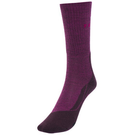 Falke TK2 Wool Socks Women purple